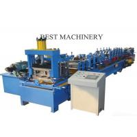 Quality Automatic Roll Forming Machine C And Z Purlin Steel Channel Quick Change for sale