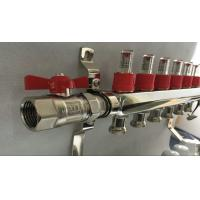 Quality White Control Floor Heating Manifold With Stainless Steel 304 Or 201 for sale