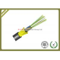 Loose Tube Outside Aerial Optical Fiber Cable GYFTY Type Hydrolysis Resistant
