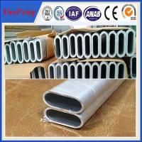 Quality YueFeng aluminium extrusion profile housing / aluminum extrusion oval tube for sale