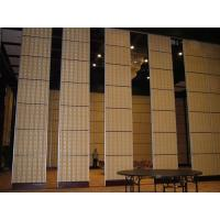 Buy Aluminium Sliding Partition Walls for Banquet Hall / Soundproof Wall Panels at wholesale prices