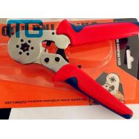 Quality 180mm Hand Crimping Tool 24-10 AWG , MG-8-6-6 Carbon Steel Non Insulated Crimping Pliers for sale