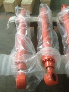 Quality DH130 Bucket hydraulic cylinder Doosan hydraulic components Doosan excavator spare parts cylinder piston rods for sale