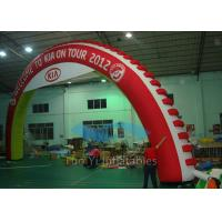 Quality 4M - 8M Indoor Inflatable Finish Arch Custom Logo For Promoting for sale