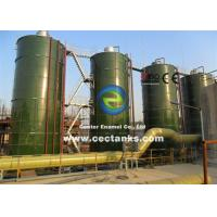 China Corrosion Resistance Steel Silos for Grain / Dry Bulk Storage with AWWA D103 Standard on sale