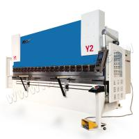 China WE67K 125T/4000 Sheet Metal Steel hydraulic press brake machine with CNC system DA52S system on sale