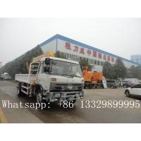 Buy Dongfeng 8ton truck mounted crane for sale at wholesale prices