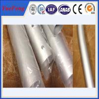 Buy CNC/drilling/bended aluminium pipes tubes specially for rack/tent,aluminium tent at wholesale prices