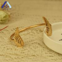 Buy cheap Personalized Retro Angels Wings Fashion Opening Bangle Bracelet BSL557 from wholesalers