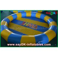 Quality Customized Air Tight Inflatable Water Toys PVC Swimming Pool For Children Playing for sale