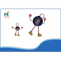 Buy DIY Colorful Metal Cartoon Badge Making Materials With 44mm / 58mm Card at wholesale prices
