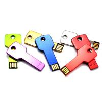 China Stylish Metal Flash USB Thumb Drives Key Shaped Memory 64MB - 64GB on sale