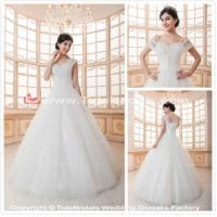 Quality white/Ivory Lace wedding dress bridal gown #SWEET003 for sale