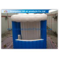 China Portable Inflatable Mini Kiosk  Inflatable Trade Show Booth  PVC Coated Tarpaulin for sale