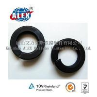 Quality Black Dioxide Railway Coil Spring Washer for sale