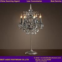 Quality Crystal center pieces for weddings desk light wholesale glass table lamp for sale