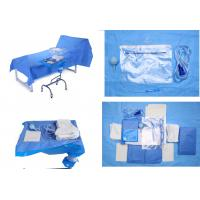 Quality Operating Room Sterile Blue Sterile Drape Sheets for Baby Bith Surgery for sale