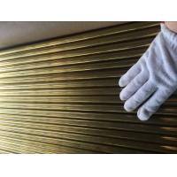 Quality ASTM B111 C44300 , C68700 Brass Tube For Condenser And Cooling Applicaton for sale