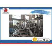 Quality Stainless Steel Carbonated Drinks Filling Machine 5KW 2000 - 3000BPH High Filling Precision for sale