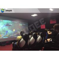 Quality Multiplayer Interactive 7D Shooting Game 7D Movie Theater With Shooting Game And 9 Luxury Motion Seats for sale