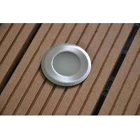 Quality Stainless Steel 0.2W DC 12V LED deck lights Blue Pink Color , 2 Years Warranty for sale