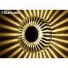 3W RGB Sunflower Indoor LED Wall Mounted Lights For KTV Karaoke Bar Club for sale
