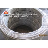Quality Stainless Steel Coil Tubing ASTM A269 TP304 TP304L TP316L TP316Ti TP321 TP347H for sale