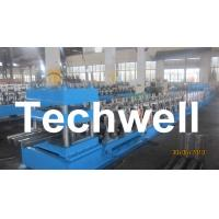 Quality Three Wave Highway Guardrail Cold Roll Forming Machine for 3 Wave Guard Rail Beam for sale
