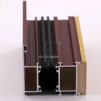 Quality OEM Aluminum Door Profile Easy Installation High Corrosion Resistance Sound Insulation for sale