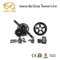 Quality BBS02 Bafang Crank Electric Push Bike Conversion Kits 500 Watt 80 % Efficiency for sale