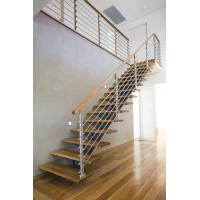 Quality Interior Stainless Steel Wire Rod Railing for building Handrail design for sale