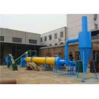 Coal Powder Rotary Dryer Machine For Wood / Sawdust / Crop Straw Drying for sale