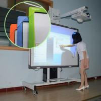 Quality 82 Inch IR 32 touch 10 writing Interactive whiteboard For Smart Classroom for sale