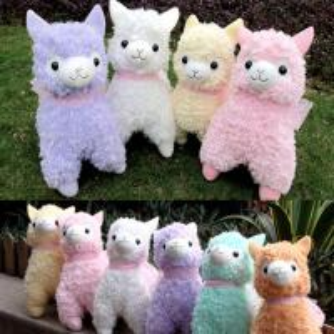 Buy cheap Cute Lovely Animal Alpaca Vicugna Pacos Lama Arpakasso Alpacasso Soft Stuffed Plush Doll from wholesalers