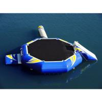 Buy cheap Hight Quality Water Park Inflatable Blue Water Trampoline Combo from wholesalers