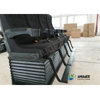 Quality 4D Cinema System 4D Movie Theater , Special Effect Motion Chair Voltage 220 / 380 V for sale