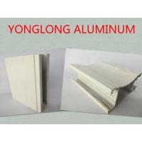 Quality Customized Rectangle Wood Finish Aluminium Profile For Door Corrosion Resistance for sale