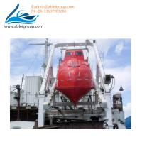 Quality Totally Enclosed Freefall Lifeboat 19-22 Person Capacity With Davit 55KN CCS Certificate for sale