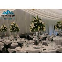 Quality Long Life Span Outdoor Wedding Reception Tent For Party Banquet With Air Condition for sale