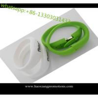 Buy All knids of Promotional Non-standard Customized silicone wristband with USB at wholesale prices