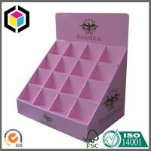 Quality Elegant Custom Color Printing Display Box; Cosmetics Product Corrugated Display Box for sale