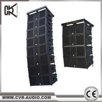 China CVR audio factory passive dual 12 inch three-way line array system W-8B for sale