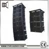 CVR audio factroy hot sell dual 10 inch line array acitve sound system W-210BP for sale