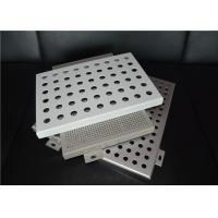 Quality OEM Laser Cutting Perforated Aluminum Sheet Metal Panels Acid - Resistant for sale