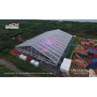 Transparent Aluminum Alloy Frame Large Event Canopy For Wedding Party With Roof Lining for sale