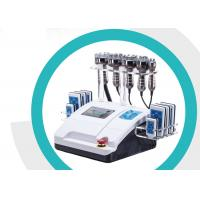 Rf Cavitation Lipo Laser Slimming Machine Smooth Fatigue With 8 Inch Touch Screen for sale
