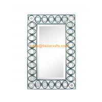 Quality Export Quality Factory Price Metal Framed Different Antique Color Finish Rectangle Wall Mirror for sale