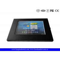 China Android 10.1 Tablet Secure Ipad Enclosure VESA Mounting Holes For Wall Mounting on sale