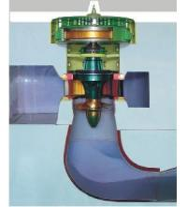 Quality Axial Flow Hydraulic Turbine for sale