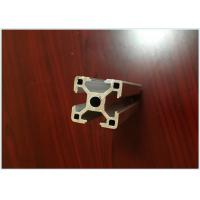Quality 6063 T5 Black Anodized Aluminum Extrusions for Aluminum T - Slotted Frame 40 X 40mm for sale